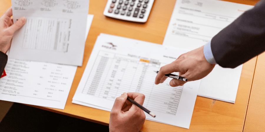 Analise de gestão financeira da emprea