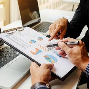 análise de crescimento empresarial