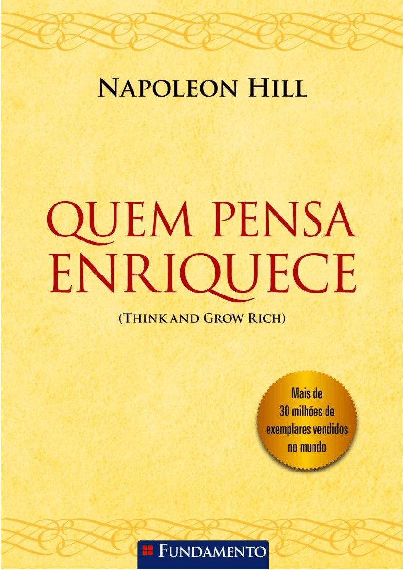 Capa do Livro Quem Pensa Enriquece