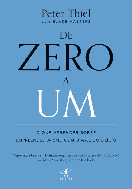 Capa Livro De Zero a Um