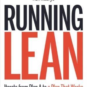 Capa do livro Running Lean