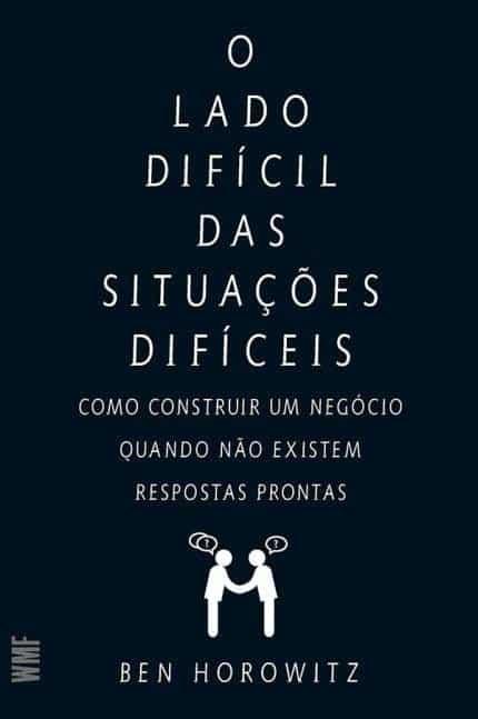 Capa livro O lado difícil das situações difíceis