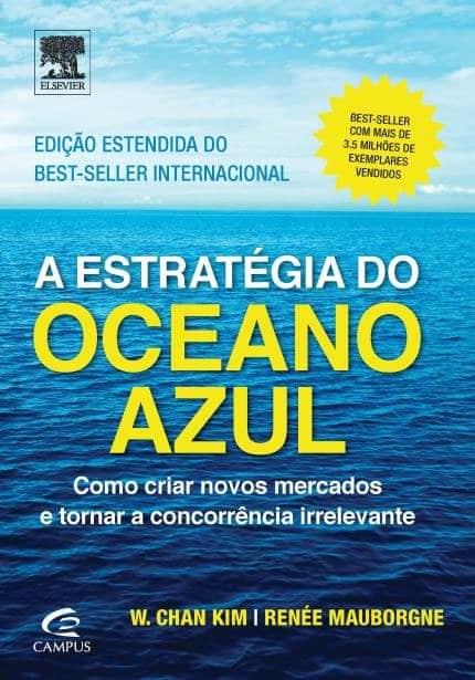 Capa do livro A estratégia do oceano azul