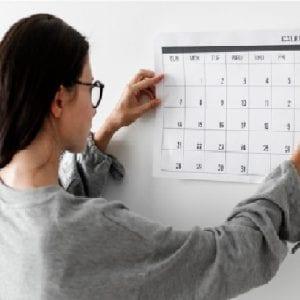 Estabecer datas e prazos no planejamento empresarial