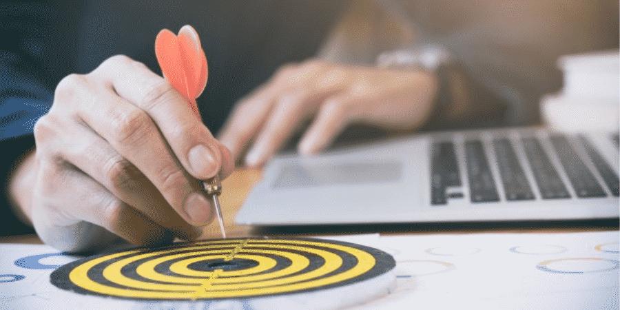 demonstrar a meta da empresa em um planejamento estratégico