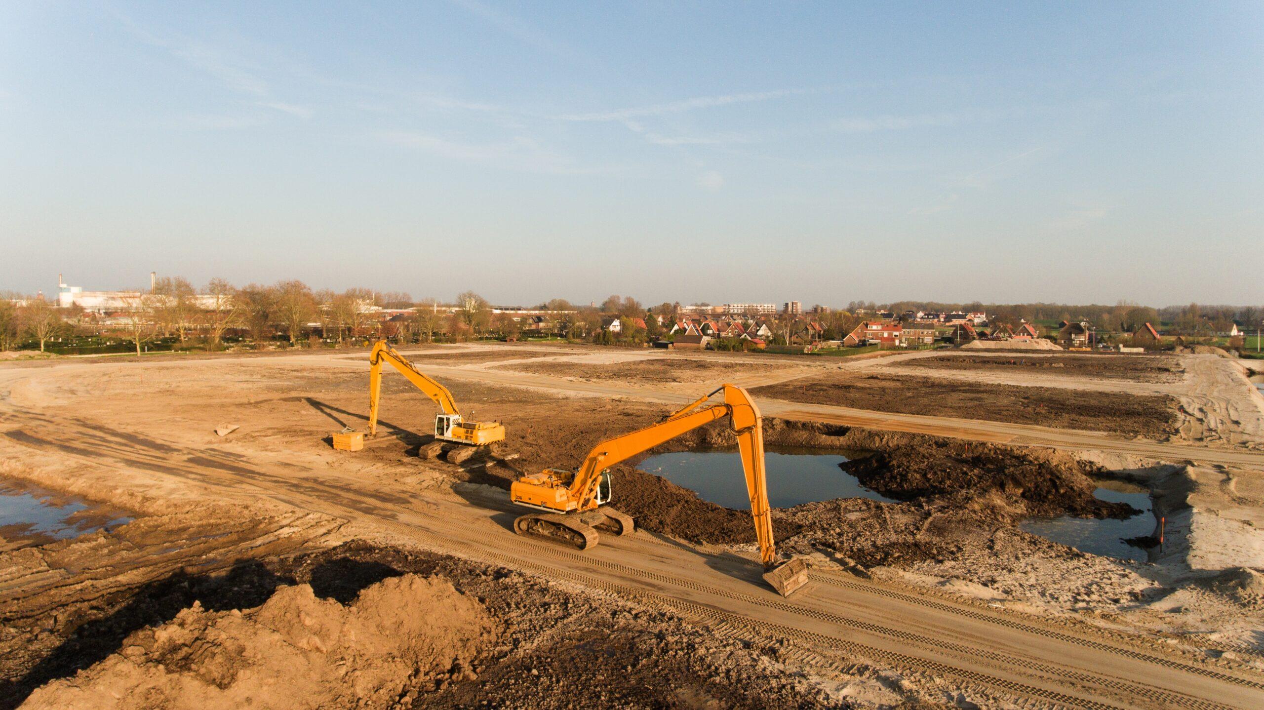 direito de superficie escavadeiras