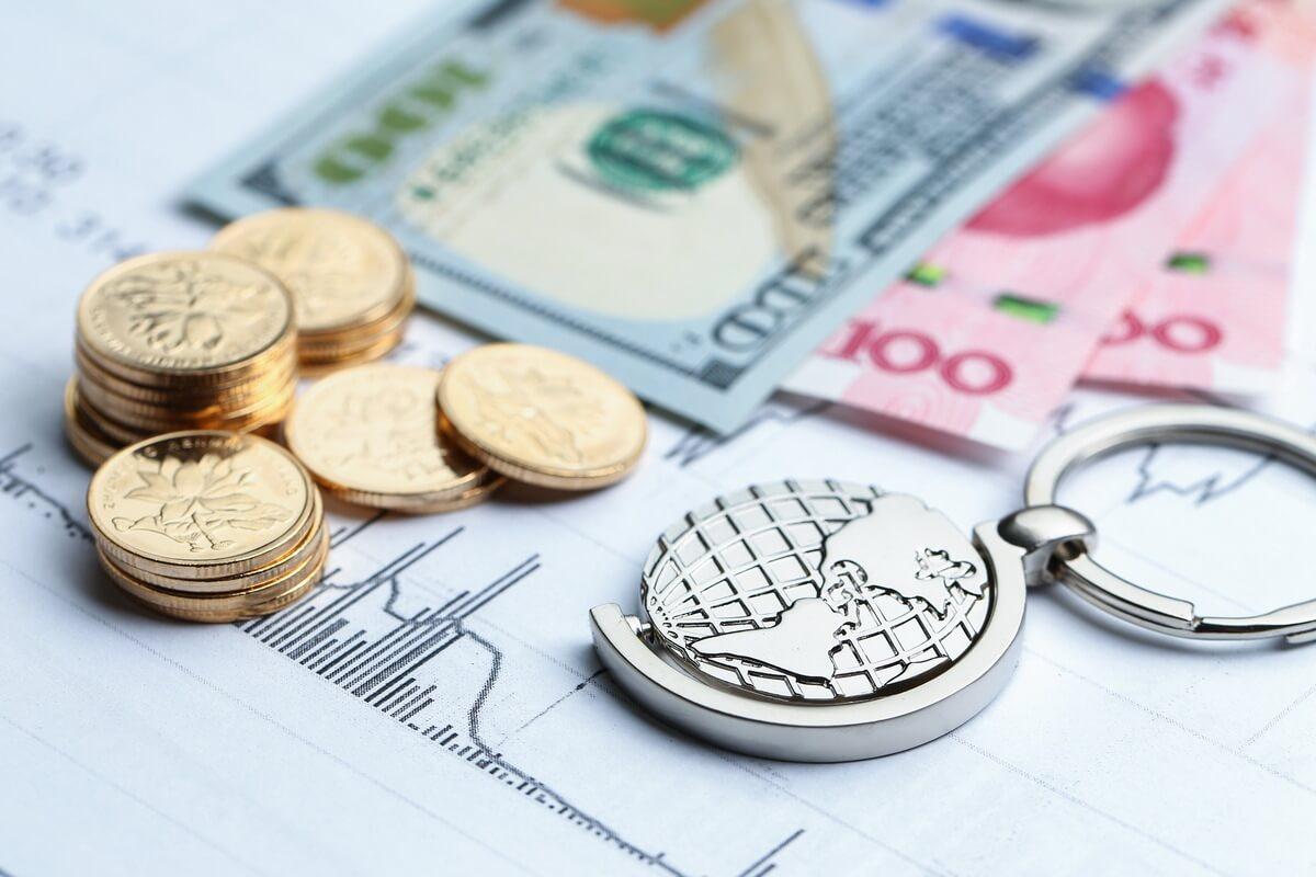 mercado-de cambio moedas dinheiro