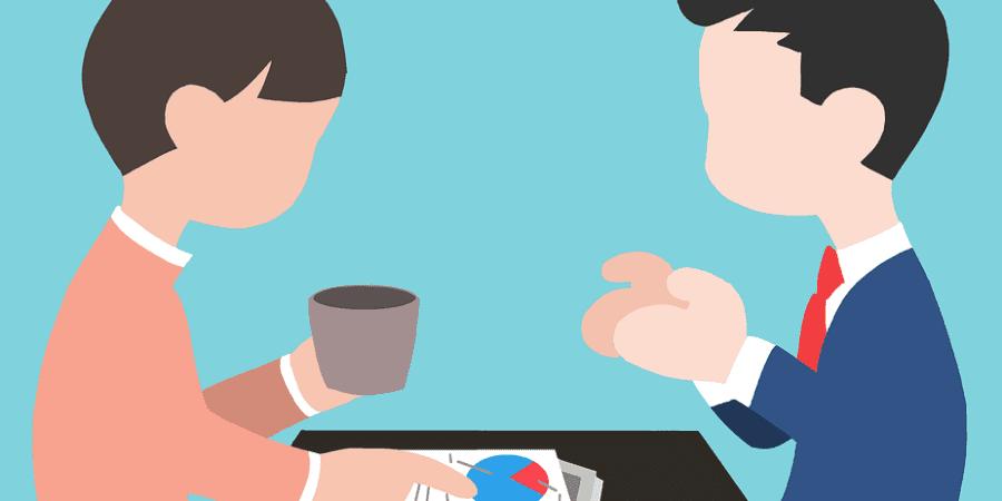 Bonecos conversando sobre psicologia do consumidor