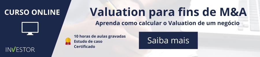 Curso Online Valuation para fins de M&A