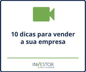 Capa material rico - 10 dicas para vender a sua empresa