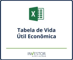 Capa material rico - Tabela de vida útil econômica