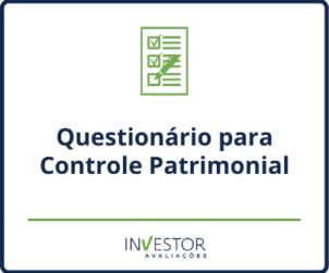 Capa material rico - Questionário para controle patrimonial