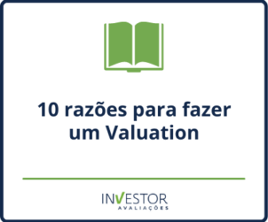 Capa material rico - Ebook 10 razões para fazer um valuation