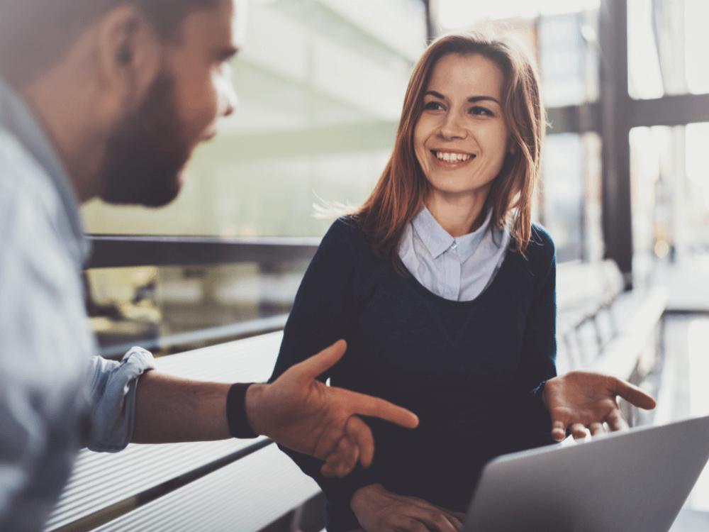 código de ética empresarial pessoas conversando